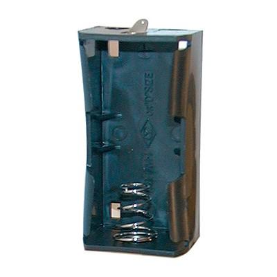 D Battery Holder - 1 Cell, Solder Terminals