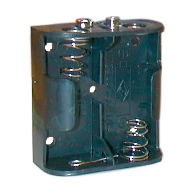 C Battery Holder - 2 Cells, 9V Snap