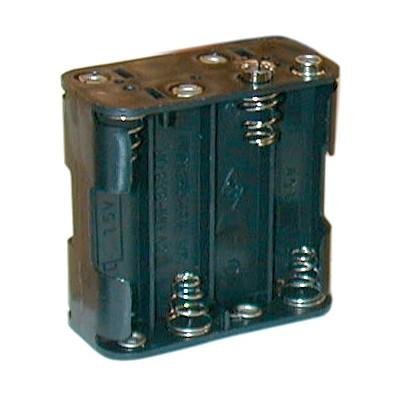 AA Battery Holder - 8 Cells, 9V Snap