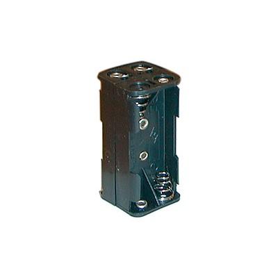 AAA Battery Holder - 4 Cells, Solder Terminals
