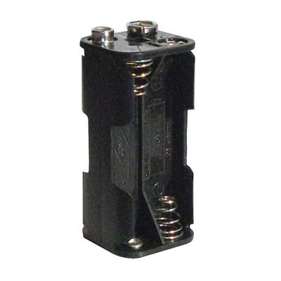 AAA Battery Holder - 4 Cells, 9V Snap