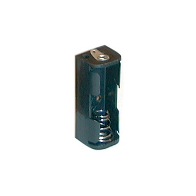N Battery Holder - 1 Cell, Solder Terminals