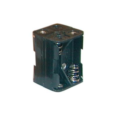 N Battery Holder - 4 Cells, Solder Terminals