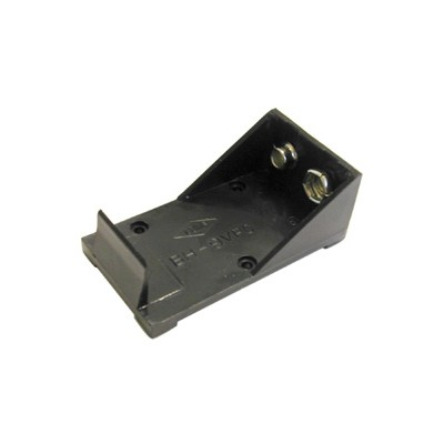 9V Battery Holder - 1 Cell, Solder Terminals, Pkg/10