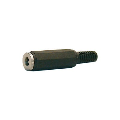 Coaxial Power DC Inline Jack - 2.1 x 5.5mm, Pkg/10