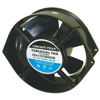 Fan 230VAC, 150mm x 55mm, 190/230 CFM, Ball bearing