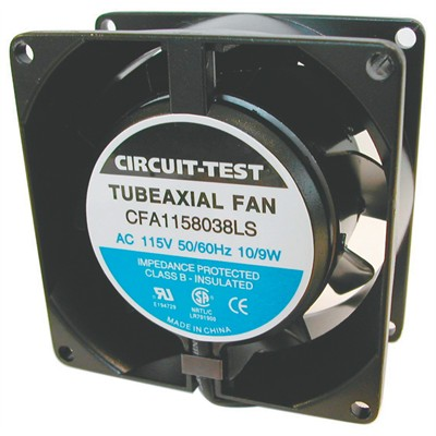 Fan 115VAC, 80mm x 38mm, 21 CFM, Sleeve bearing
