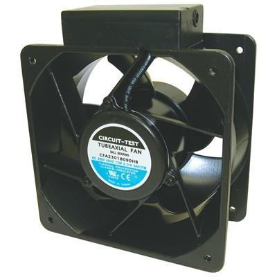 Fan 230VAC, 180mm x 90mm, 390/460 CFM, Ball Bearing