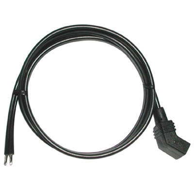 Fan Power Cord - Fan Angled Plug to Wire Leads, 24""