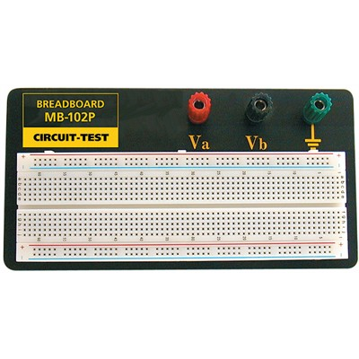 Breadboard, 95x183mm, 830 Holes - Mounted