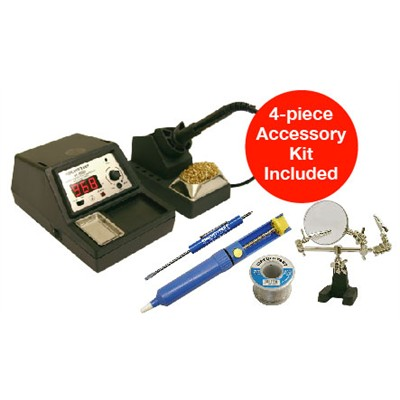 Variable Temp Soldering Station - 60W Iron, Digital