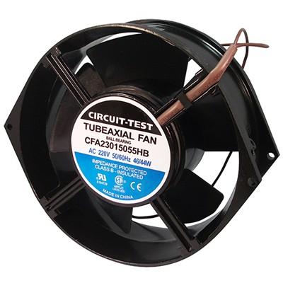 Fan 230VAC, 150mm x 55mm, 190/230 CFM, Ball bearing