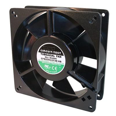 Fan 230VAC, 127mm x 38mm, 103/120 CFM, Ball Bearing