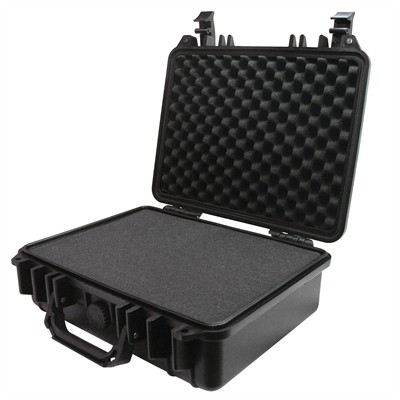 "IBEX Protective Case 1300 with foam, 13 x 11 x 4.7"", Black"