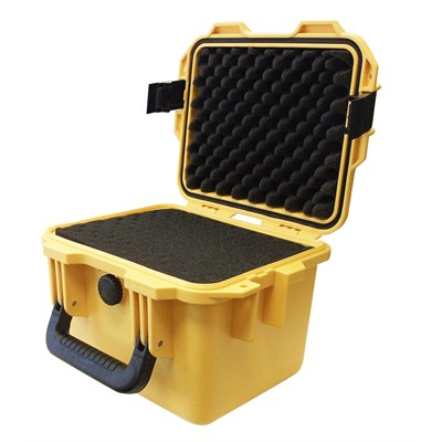"""IBEX Protective Case 1360 with foam, 11.8 x 9.8 x 8.4"""", Yellow"""