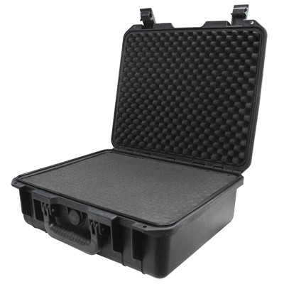 "IBEX Protective Case 1500 with foam, 16.9 x 15 x 6.1"", Black"