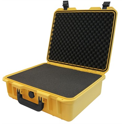 "IBEX Protective Case 1500 with foam, 16.9 x 15 x 6.1"", Yellow"