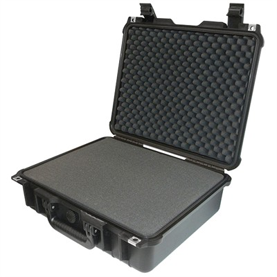 "IBEX Protective Case 1505 with foam, 16.9 x 15 x 6.1"", Black"
