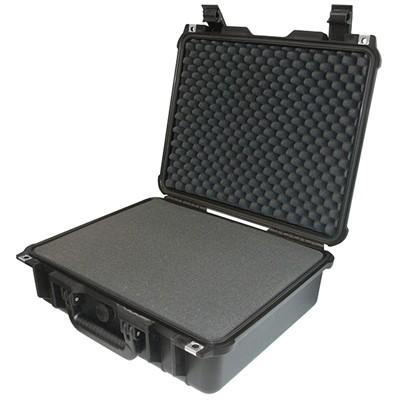 "IBEX Protective Case 1400 with foam, 16.5 x 12.9 x 6.8"", Black"