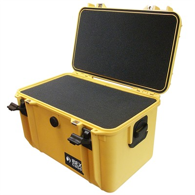 "Protective Case 1560 with foam, 16.9 x 11.1 x 10.8"", Yellow"