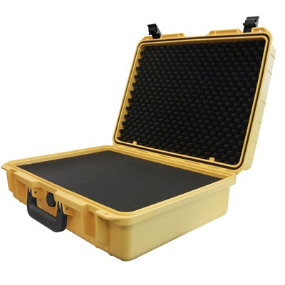 "IBEX Protective Case 2110 with foam, 20.3 x 16.3 x 7.9"", Yellow"