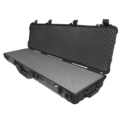 "Protective Case 4500 with foam, 53 x 15.5 x 6.5"", Black, With Wheels"