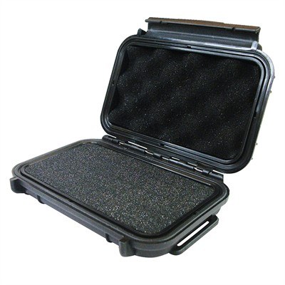 "IBEX Protective Case 500 with foam, 5.1 x 3.5 x 1.3"", Black"