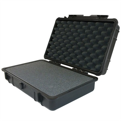 "IBEX Protective Case 850 with foam, 9.7 x 6.9 x 3.1"", Black"
