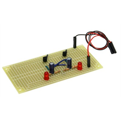 Junior Genius Blinky Lights Solder kit - 4 Sets