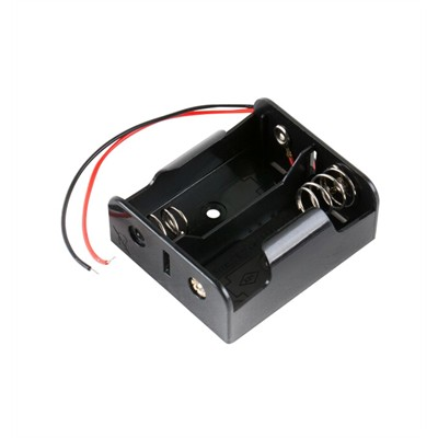 C Battery Holder - 2 Cells, Wire Leads