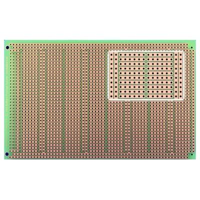 BUSBOARD® Powerboard with power rails, Size 3 (100x160mm)