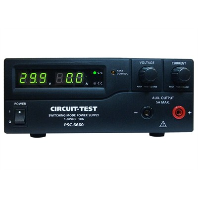 Single Output - Switching Power Supply (60VDC/10A), Remote Programmable