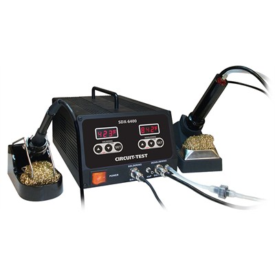 Digital Soldering & Desoldering Station - 100 Watt