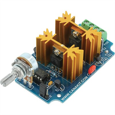 7A Digital Bidirectional DC Motor Speed Controller - Preassembled