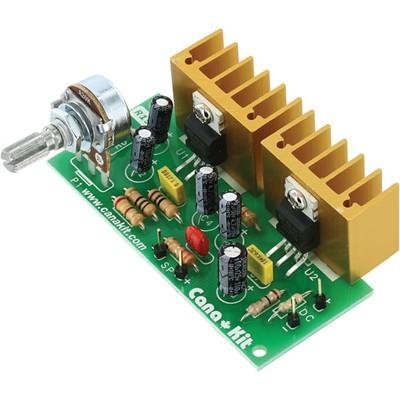 20w bridged power amplifier kit. Black Bedroom Furniture Sets. Home Design Ideas