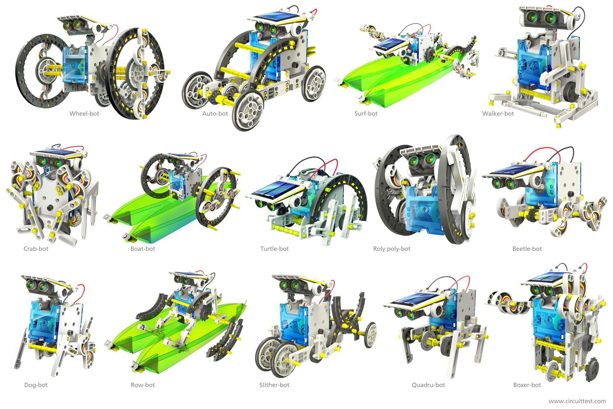 Resultado de imagen para educational kit robot solar